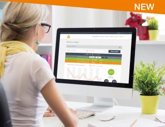 SIPinsight tenant billing solution on PC screen