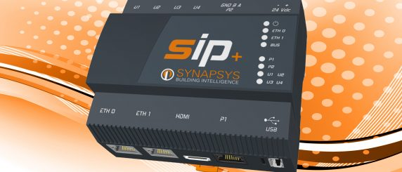 SIP+ on Synapsys background